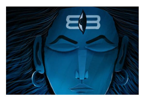 PosterGully Specials, shiva Wall Art | Artist : Dev Ballal, - PosterGully