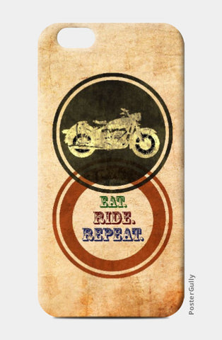 iPhone 6 / 6s, Eat Ride Repeat iPhone 6 / 6s Case | Artist: Abhishek Faujdar, - PosterGully