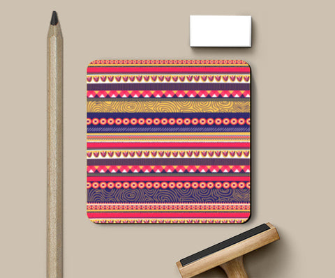 Coasters, Go Tribal Coasters | Artist : Tanvi C, - PosterGully
