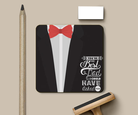 Suit Artwork Father's Day | # Father's Day Special  Coasters | Artist : Creative DJ