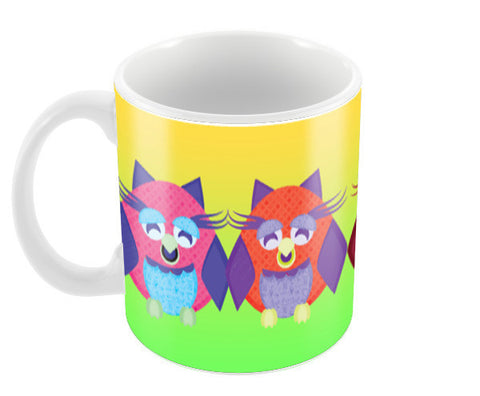 Crazy Owls!! Coffee Mugs | Artist : Design_Dazzlers
