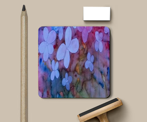 Coasters, Dreamy Abstract Flower Coasters | Artist : abhishek singh, - PosterGully