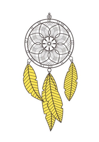DreamCatcher Wall Art | Artist : Arpita Gogoi
