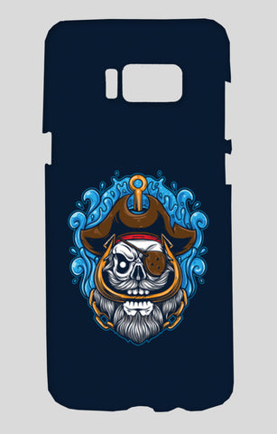 Skull Cartoon Pirate Samsung Galaxy S8 Cases | Artist : Inderpreet Singh