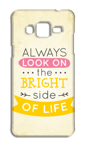 Always Look On The Bright Side Of Life Samsung Galaxy J3 2016 Cases | Artist : Inderpreet Singh