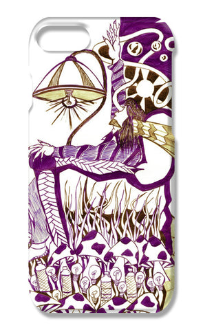 MUSHROOMthrone iPhone 7 Cases | Artist : akash biyani