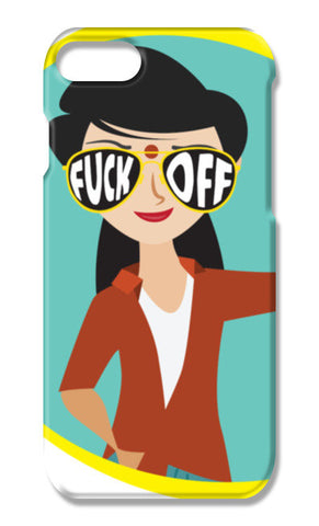 Fcuk off iPhone 7 Plus Cases | Artist : Harpreet Kaur