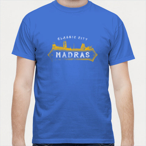 Classi City Madras | Black Men T Shirts | Artist : Ramkumar Kolappan