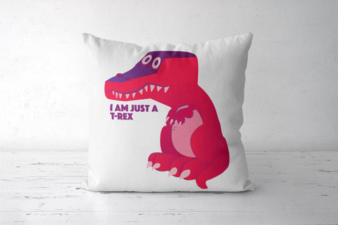 Cute T-rex dinosaur Cushion Cover | Deepikah R B