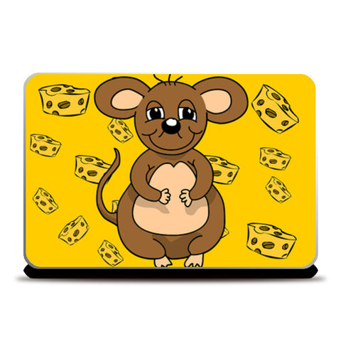 Laptop Skins, Mouse cheese Laptop Skins | Artist : Anuj Goyal, - PosterGully