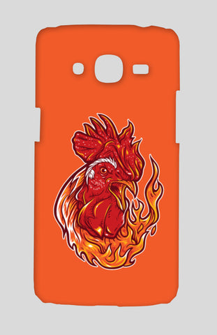 Rooster On Fire Samsung Galaxy J2 2016 Cases | Artist : Inderpreet Singh