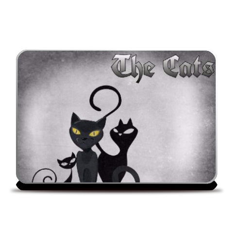 Laptop Skins, The Cats Laptop Skin | Anushree Jaiswal, - PosterGully