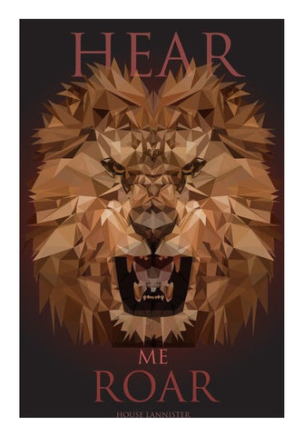 Wall Art, HOUSE LANNISTER Game of Thrones Wall Art Wall Art | Artist : Vedant Sharma, - PosterGully