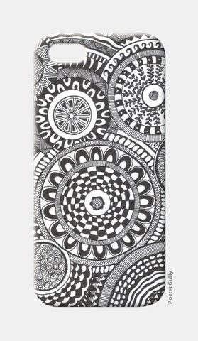 Prints in Circles iPhone 5 Cases | Artist : Aniket Mitra