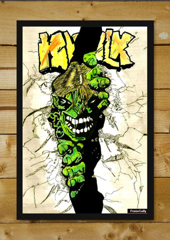 Wall Art, Hulk Artwork | Artist: Nishant D'souza, - PosterGully - 1