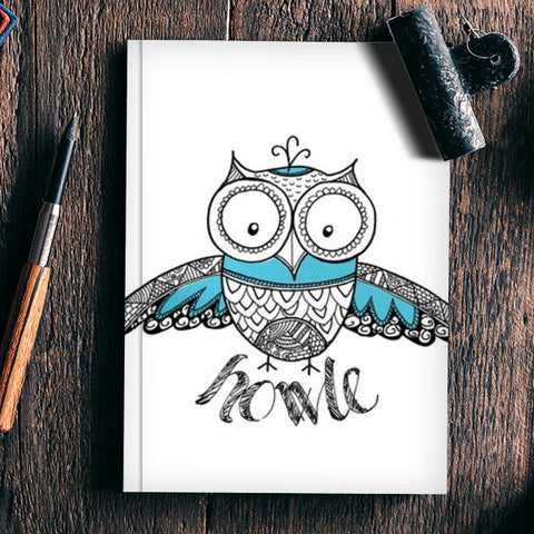 Howle Notebook | Artist : the unskilled artist