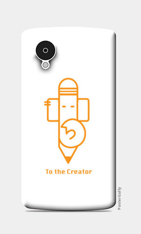 Ganesha The Creator Nexus 5 Cases | Artist : Pratik Doshi