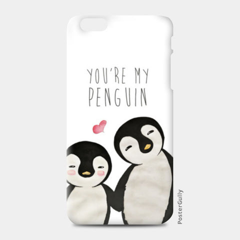 You're My Penguin | Artist: Aparna Singh iPhone 6 Plus/6S Plus Cases | Artist : Aparna Singh
