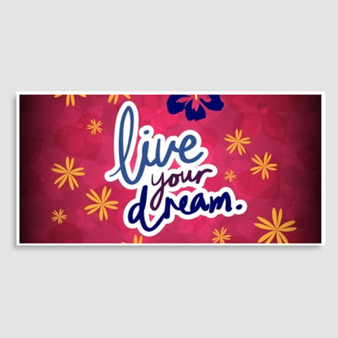 Live your Dream Door Poster | Artist : Pallavi Rawal