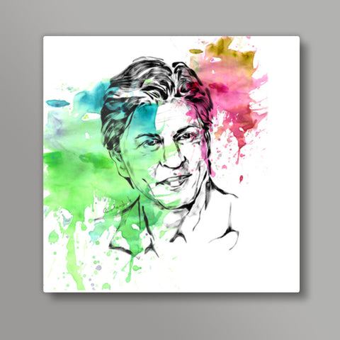 Shah Rukh Khan Metal Prints | Artist : Pradeesh K