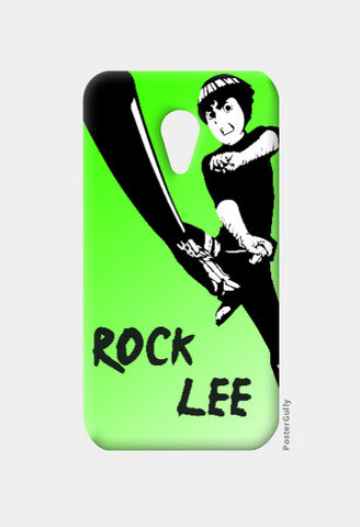 Moto G2 Cases, Rock Lee Moto G2 Case | Artist: Mahesh Rambhatla, - PosterGully