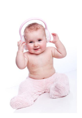 Baby Headphone  Wall Art PosterGully Specials