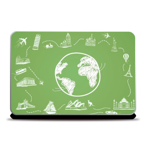 Laptop Skins, Traveller Laptop Skins | Artist : Paresh Godhwani, - PosterGully