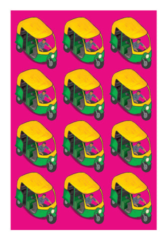 Wall Art, Auto Wala Wall Art | Artist : Deepikah Bhardwaj, - PosterGully