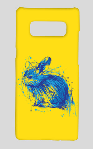 Rabbit Samsung Galaxy Note 8 Cases | Artist : Inderpreet Singh
