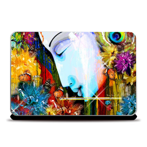 Laptop Skins, Lady Abstract Laptop Skin | Artist: pradeesh.k, - PosterGully