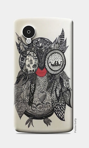 The Mystic Owl Nexus 5 Cases | Artist : Quirky Designs by Priyanka Singhania