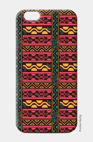 Abstract geometric pattern african style iPhone 6/6S Cases | Artist : Designerchennai
