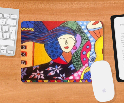 Mousepad, I am the Queen Mousepad | Artist: Meghna Garg, - PosterGully