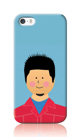 iPhone Cases, Tyler Fight Club iPhone 5/5S Case | Artist: Inderpreet, - PosterGully