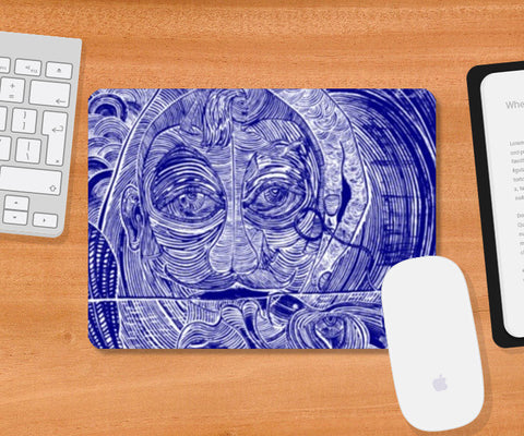 Mousepad, Perpetual Bliss Ver. 1.4 Mousepad | Artist : Luke's Art Voyage, - PosterGully