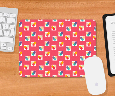 Mousepad, Heart in a Box (Pink) Mousepad | Artist : Tanvi C, - PosterGully