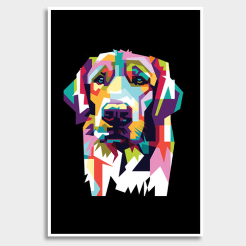Dog Lovers Giant Poster | Artist : Inderpreet Singh