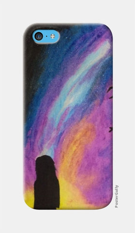 iPhone 5c Cases, Starry Nights iPhone 5C Case | Artist: Rithikha Kalidos, - PosterGully