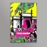 i love mumbai Metal Prints | Artist : Pradeesh K