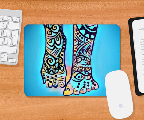 happiness coming your way Mousepad | Artist : Himani Chhabra