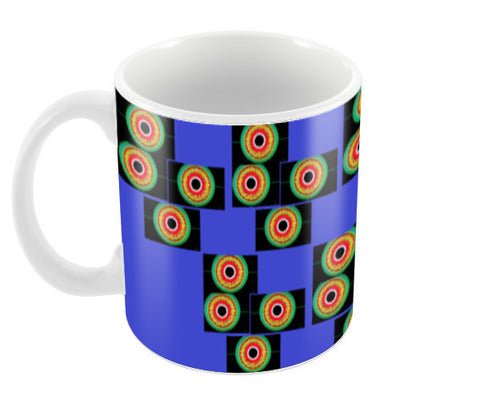Pyramid of Eyes Coffee Mugs | Artist : Papo Mukherjee