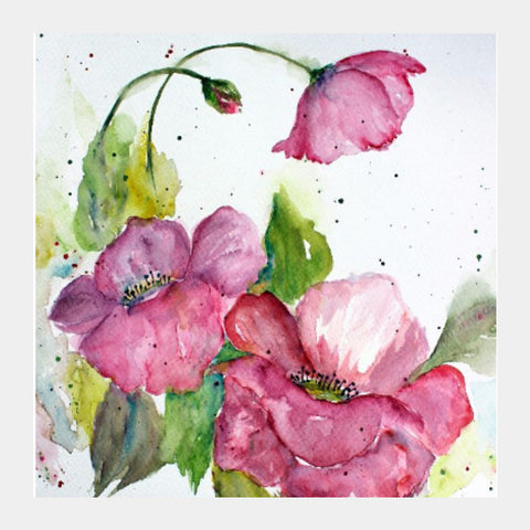 Square Art Prints, Spring Blooms Square Art Print I Artist: Seema Hooda, - PosterGully