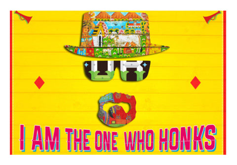 Wall Art, I Am The One Who Honks Wall Art  | Artist : Parveen Yadav, - PosterGully