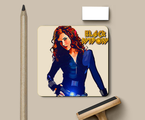 Black widow Coasters | Artist : Delusion