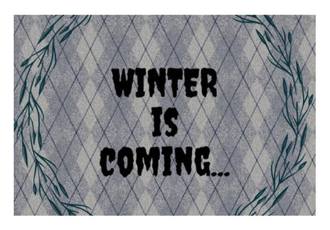 WINTER IS COMING Wall Art  | Artist : Pallavi Rawal