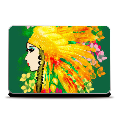 Pretty Girl Laptop Skins | Artist : Design_Dazzlers