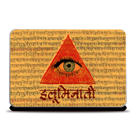 Laptop Skins, illuminati Laptop Skins | Artist : desiGuy, - PosterGully