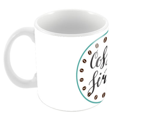 Coffee First Coffee Mugs | Artist : Colour me expressive