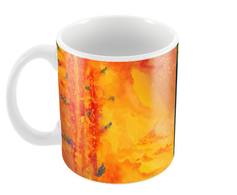 Sky & Earth Coffee Mugs | Artist : Shubhangni Gupta