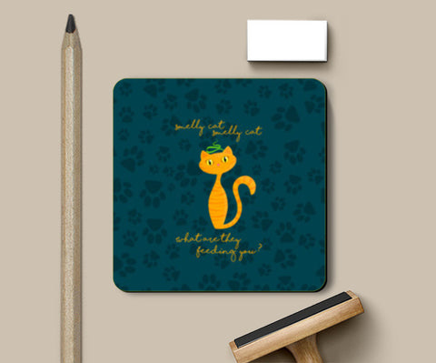 Smelly Cat | FRIENDS Coasters | Artist : Ved Uttam